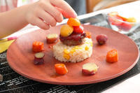 ハンバーグのワンプレート - 登志子のキッチン