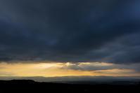 十勝岳から見た夕景 - Wonderful starry sky