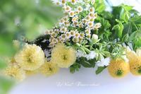 7月Basicクラス『タッジー・マッジーの香りのブーケ』 - Le vase*  diary 横浜元町の花教室
