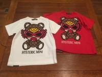 "HYSTERIC MINI ""TEDDY MINI MONOGRAM柄TEE""【NO,10341186】 - LOB SHOP"