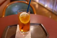 Ice Lemmon Tea - Blue Planet Cafe  青い地球を散歩する