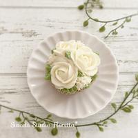クリームフロスティングでお花絞り - Sweets Studio Floretta* Flower Cake & Sweets Class@SHIGA