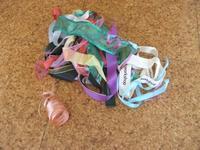 ●捨てられない人の~リボンの収納法 - 片付けられない&忙しい女性のための「片付け・収納・捨てるコツ」