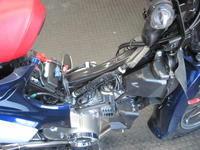スーパーカブC125にハイカム - バイクの横輪
