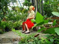 コスプレイベント手柄20200723 - 手柄山温室植物園ブログ 『山の上から花だより』