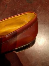 『腰裏あれこれ』ローファー篇 - Shoe Care & Shoe Order 「FANS.浅草本店」M.Mowbray Shop