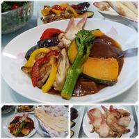 北寄貝でトッピングカレー - 気ままな食いしん坊日記2