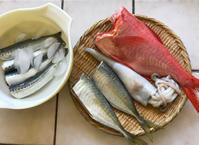 魚のお取り寄せ_7月♪鰯の刺身・酢締め・生姜煮♪ - やせっぽちソプラノのキッチン2