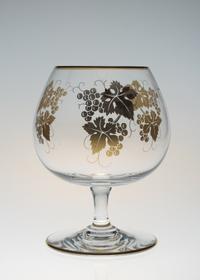 バカラ金彩葡萄柄ブランデーグラス - GALLERY GRACE ギャラリーグレース BLOG