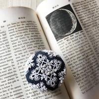 デニムとタティングレース〜明日嫁ぎます〜 - 『 紙とえんぴつ。』 kamacosan. 糸とビーズのアクセサリー