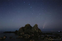 ネオワイズ彗星 (C/2020F3) 7月19日 山形県 Vol.3 - 遥かなる月光の旅