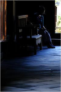 本堂にて - HIGEMASA's Moody Photo