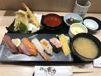 握り天ぷら御膳@魚力(立川) - よく飲むオバチャン☆本日のメニュー
