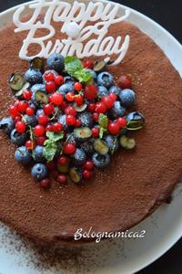 誕生日ケーキはチョコケーキで - ボローニャとシチリアのあいだで2