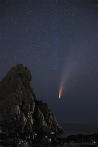 ネオワイズ彗星 (C/2020F3) 7月19日 山形県 Vol.4 END - 遥かなる月光の旅