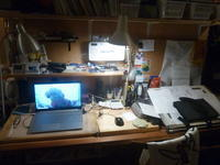机の上 - 平野部屋