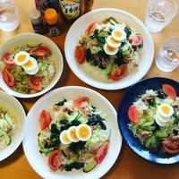 サラダ素麺 - 節約日和