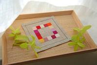 【Lesson】クロスステッチ(Y.K.さん) - 浜松の刺繍教室 l'Atelier de foyu の 日々
