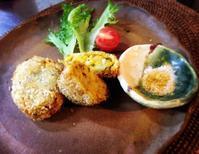 サツマイモとカボチャのほくほくコロッケ - ナチュラル キッチン せさみ & ヒーリングルーム セサミ