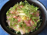 金目鯛の昆布締め丼 - やせっぽちソプラノのキッチン2