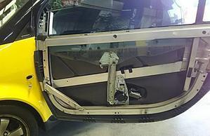 MCCスマート 450K窓落ち/451脱皮・雨漏り -