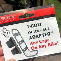 TWOFISH社3-BOLT QUICK CAGE ADAPTER - シルベストサイクル新着情報