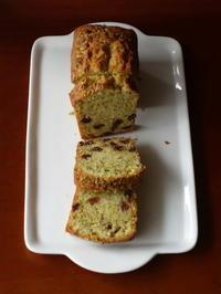 ピスタチオとレーズンのパウンドケーキ - Baking Daily@TM5