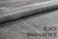 親革・トスカーナ産バケッタレザー「アラスカ」黒入荷です。 - 時を刻む革小物 Many CHOICE~ 使い手と共に生きるタンニン鞣しの革