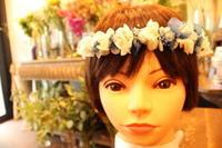 お誕生日に花冠 - 北赤羽花屋ソレイユの日々の花