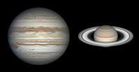 2020年の木星と土星の衝 - 秘密の世界        [The Secret World]
