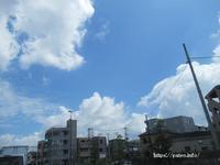 8月を迎えて梅雨明け宣言のニュースをラジオで聞く! - 一場の写真 / 足立区リフォーム館・頑張る会社ブログ