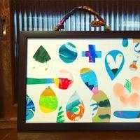 『もったいないをアートに♪リサイクル絵をつくろう!』@みちくさくらす - 図画工作室 太陽のいろ