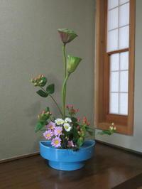 盆の花と新種の花々 - 活花生活(2)