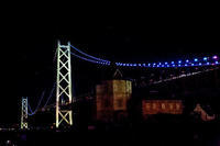 明石海峡大橋の夜景 - Plum Crazy of Going Out