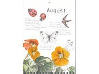 8月:てんとう虫、アマツバメ、モンシロチョウ、キンレンカ - ブルーベルの森-ブログ-英国のハンドメイド陶器と雑貨の通販