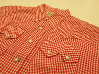 """""""DALL SMITH WESTERN SHIRT RED GINGHAM""""ってこんなこと。 - THE THREE ROBBERS ってこんなこと。"""