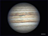 昨夜の木星、土星 - お手軽天体写真