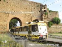 ローマの「黄色い電車」 - 『ROMA』ローマ在住 ベンチヴェンガKasumiROMAの「ふぉとぶろぐ♪ 」
