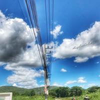 雲の峰:俳句 - always over the moon