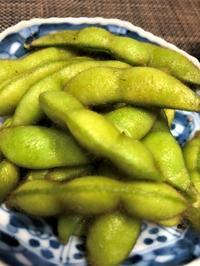 枝豆収穫 甘いよ~ - 島暮らしのケセラセラ