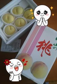 桃だ桃~ - 風に吹かれてフォトタイム