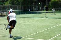 アイスが楽しみの真夏のシニアテニス - 東金、折々の風景