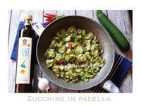 Zucchine in Padella ✨爽ハーブ香るズッキーニのソテー - ITALIA Happy Life イタリア ハッピー ライフ  -Le ricette di Rie-