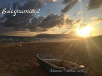 海辺での朝習慣 - ボローニャとシチリアのあいだで2