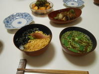 夕ご飯は穴子丼。 - のび丸亭の「奥様ごはんですよ」日本ワインと日々の料理