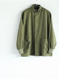 NEEDLESS.C. Army Shirt - Back Sateen - 『Bumpkins putting on airs』