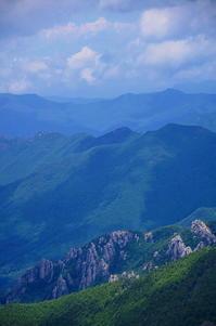 甲斐の山々 - 風の香に誘われて 風景のふぉと缶