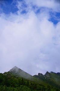 金峰山山頂にて - 風の香に誘われて 風景のふぉと缶