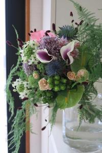主役のいない夏の花束 - The grey blue flowers