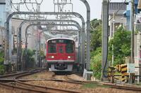 湘南を行く赤い小田急線~箱根登山色1000形~ - ONとOFFなできごと